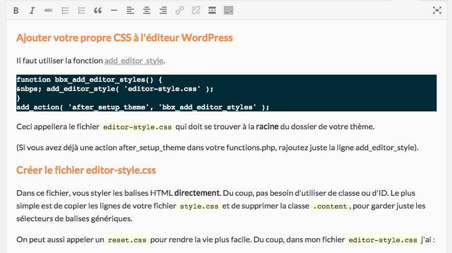 editeur-avec-css-wordpress